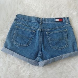 Tommy Hilfiger Vintage Denim Shorts Size 9
